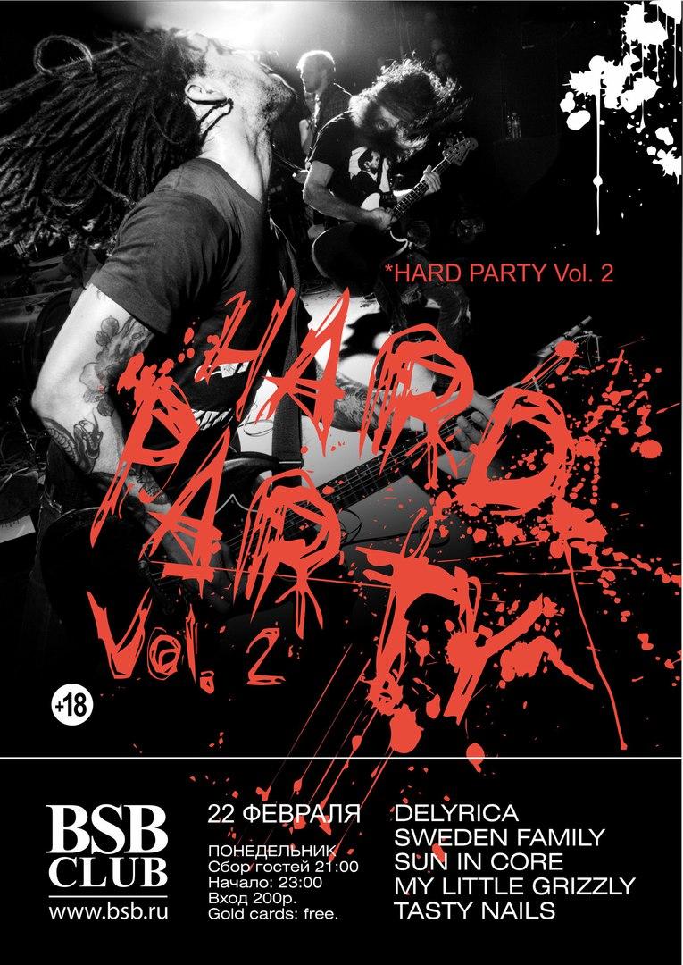Афиша Владивосток HARD PARTY vol.2