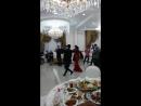 Ловзар на ингушской свадьбе. Русский, Казах, Грузин и Ингуш.
