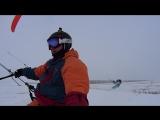 Открытие зимнего  сезона 15-16 сноукайтинг