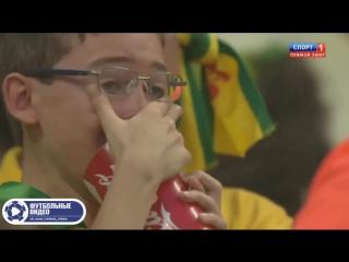 Бразилия 1-7 Германия. Полуфинал ЧМ 2014