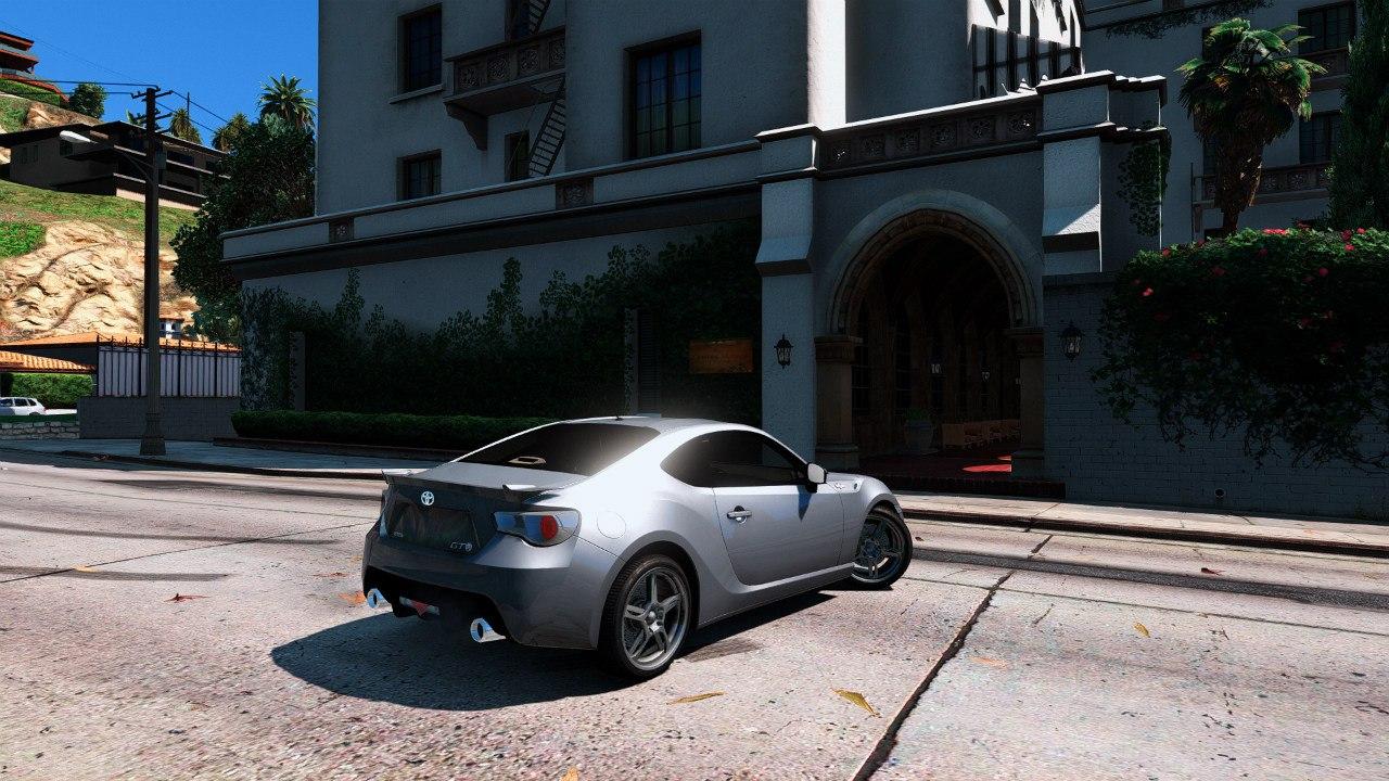 Toyota GT-86 1.0 [BETA] для GTA V - Скриншот 3