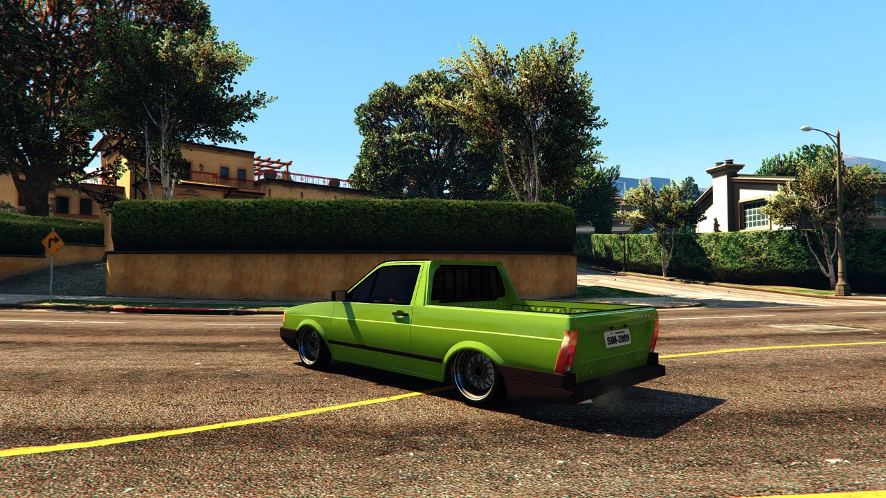 Volkswagen Saveiro Cli 1.6 Edit для GTA V - Скриншот 3
