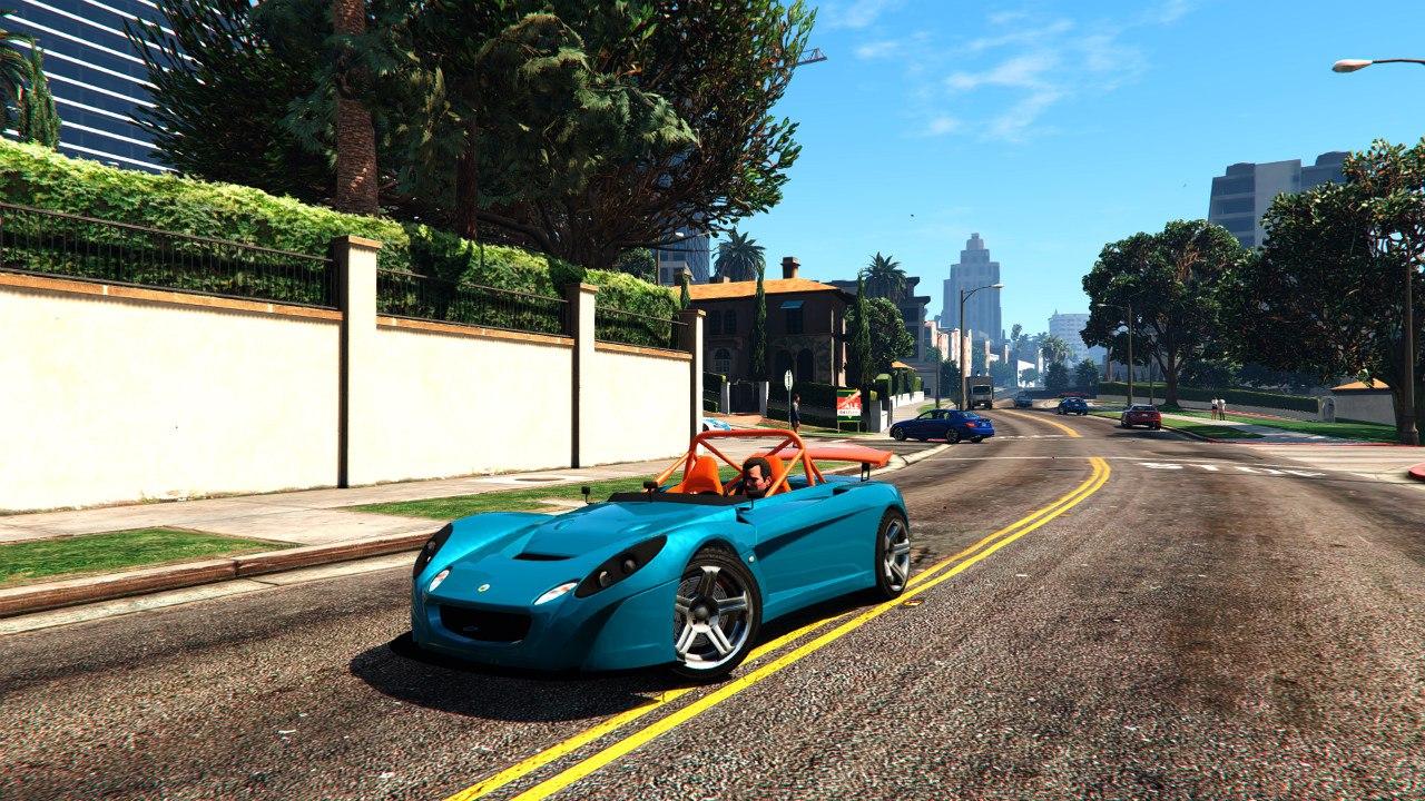 2009 Lotus 2 Eleven 0.5 для GTA V - Скриншот 1
