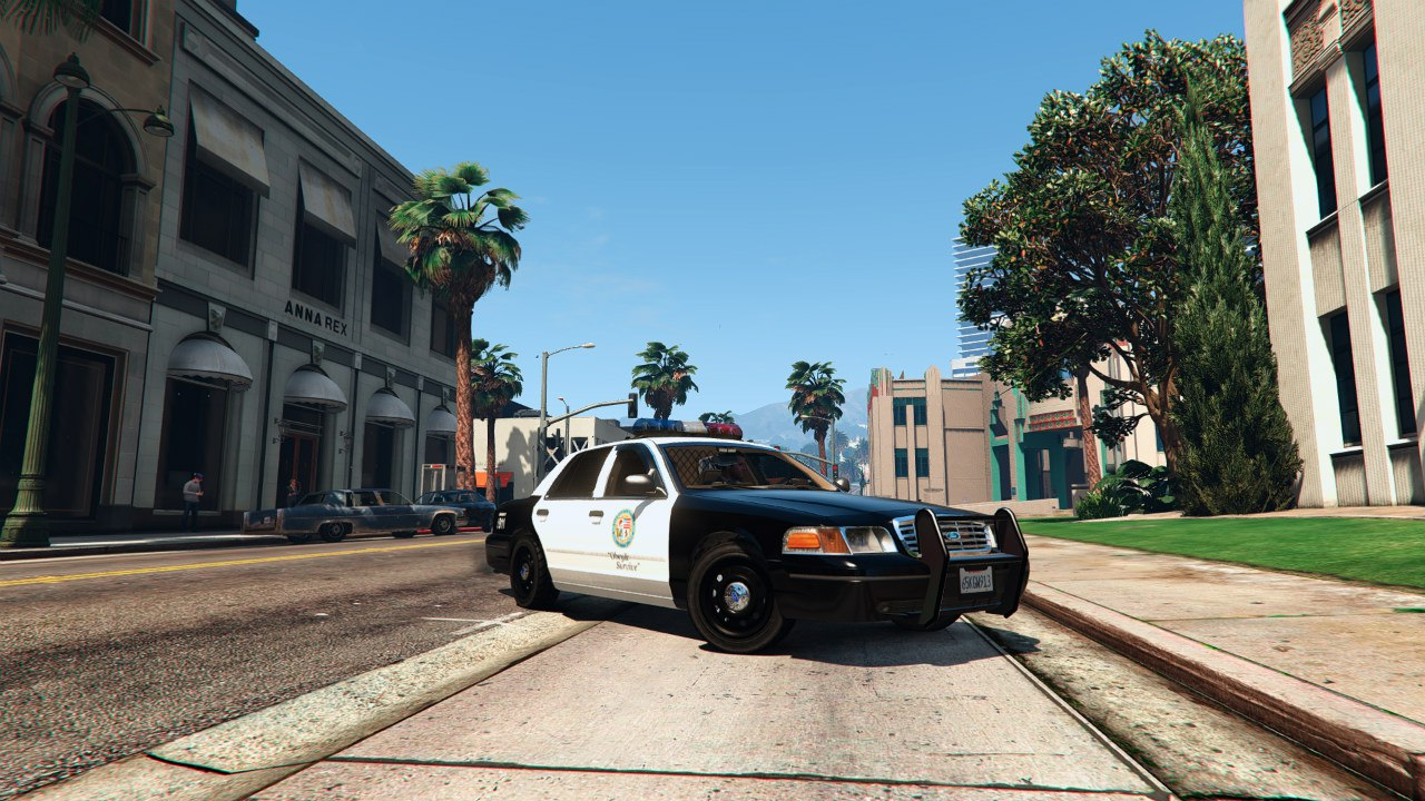 1999 Ford Crown Victoria Police v1.1 для GTA V - Скриншот 1