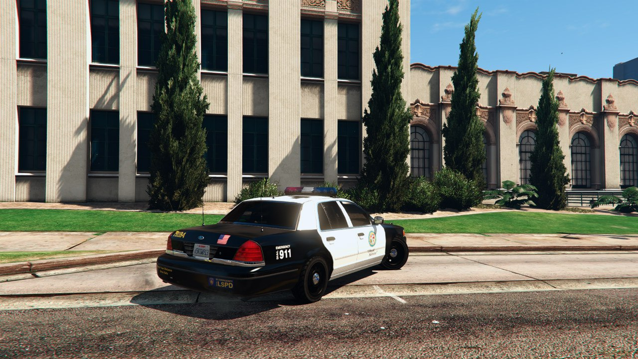 1999 Ford Crown Victoria Police v1.1 для GTA V - Скриншот 2