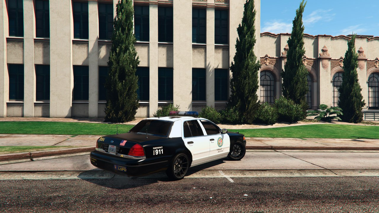 1999 Ford Crown Victoria Police v1.1 для GTA V - Скриншот 3