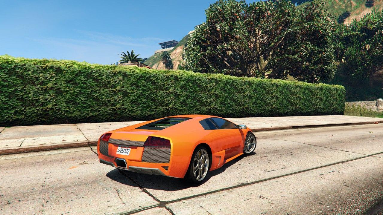 Lamborghini Murcielago LP 640 v0.5 для GTA V - Скриншот 2