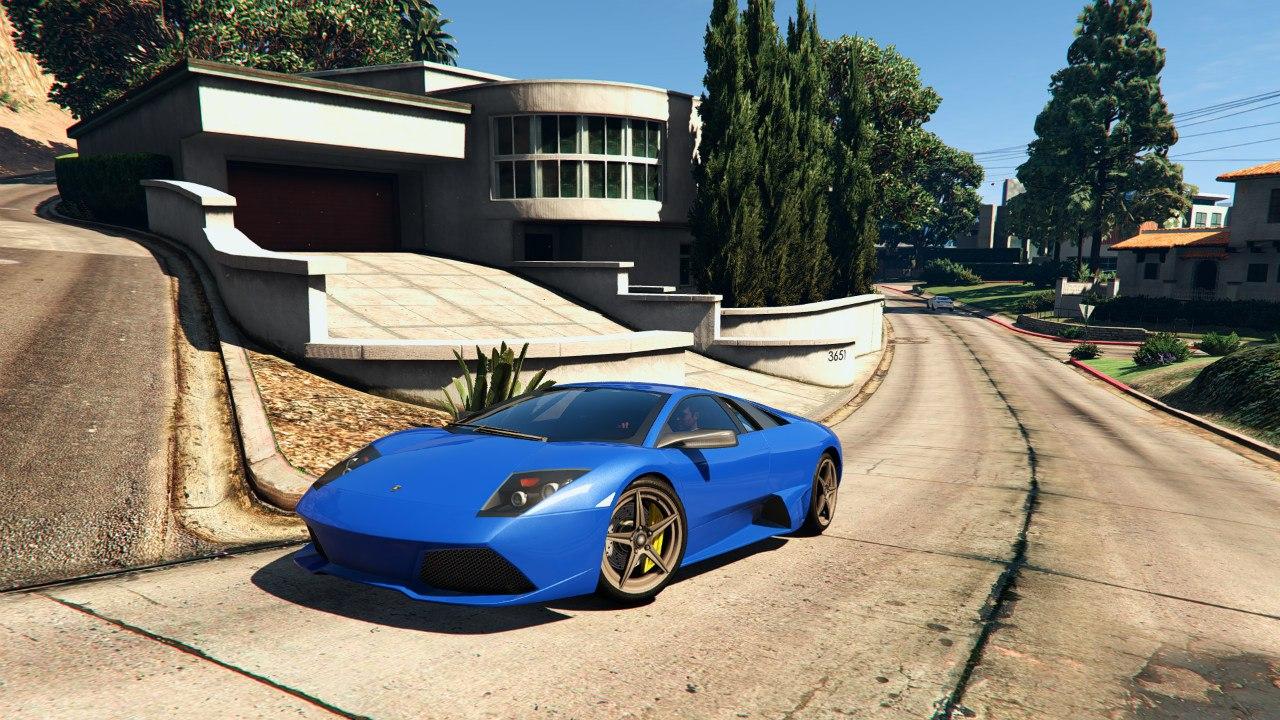Lamborghini Murcielago LP 640 v0.5 для GTA V - Скриншот 3