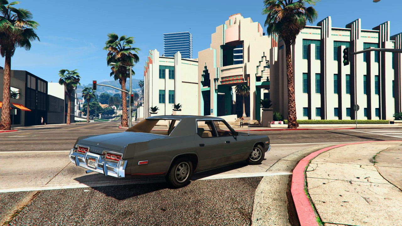 1974 Dodge Monaco v2.0 для GTA V - Скриншот 1