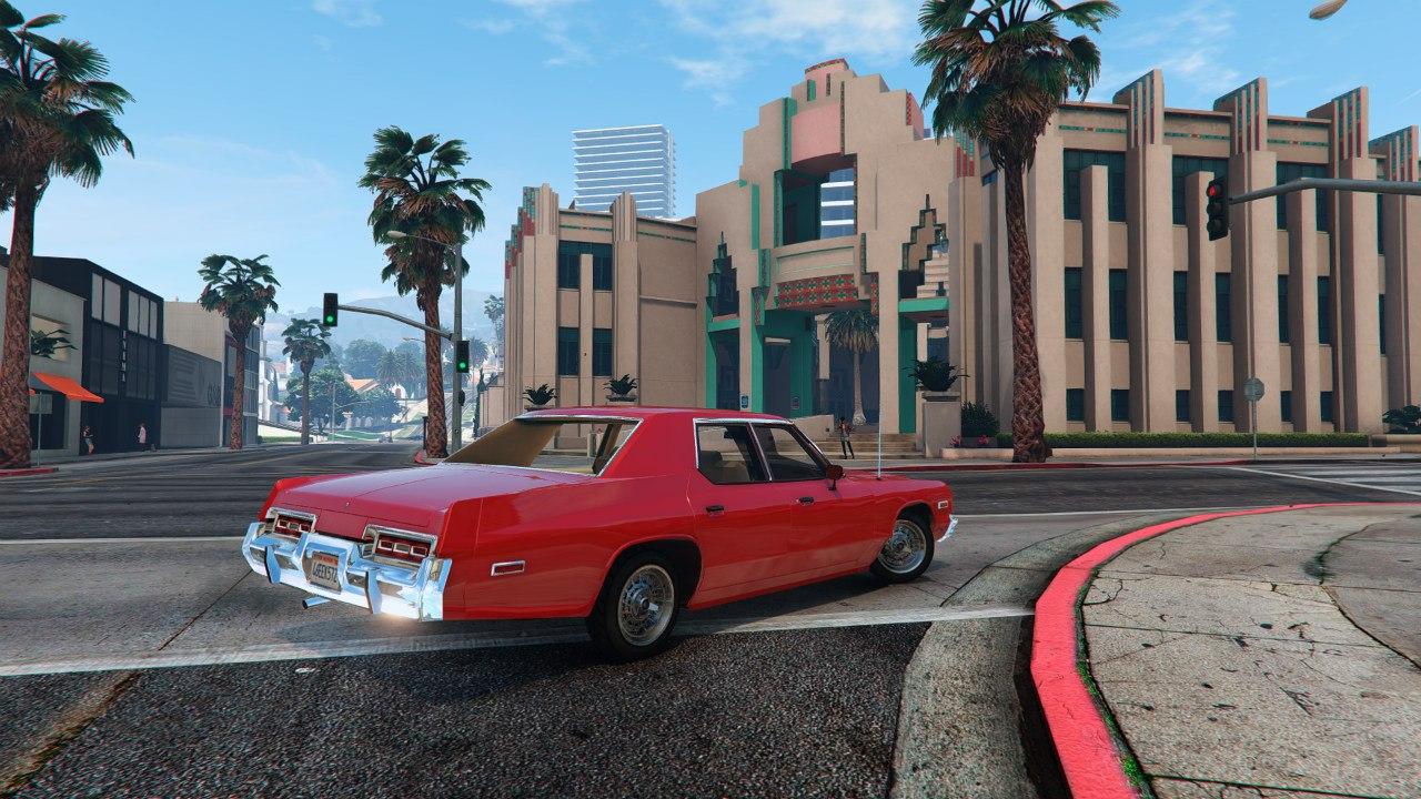 1974 Dodge Monaco v2.0 для GTA V - Скриншот 3
