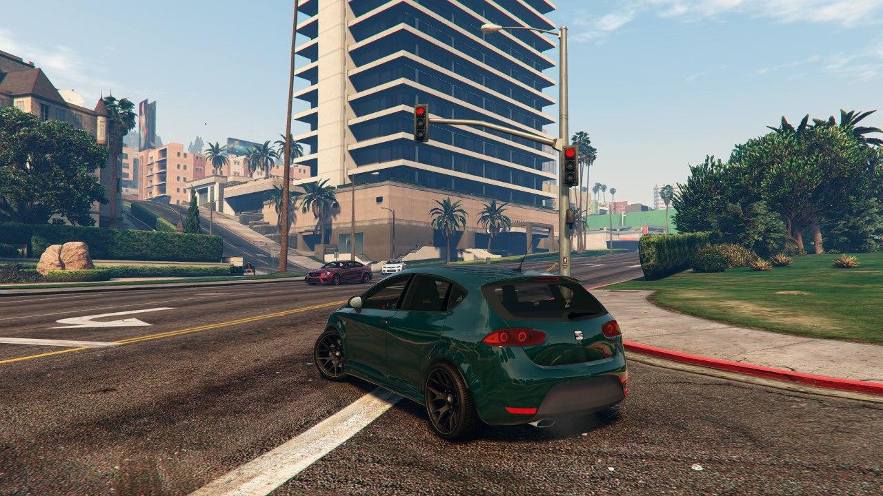 2010 Seat León [BETA] для GTA V - Скриншот 1