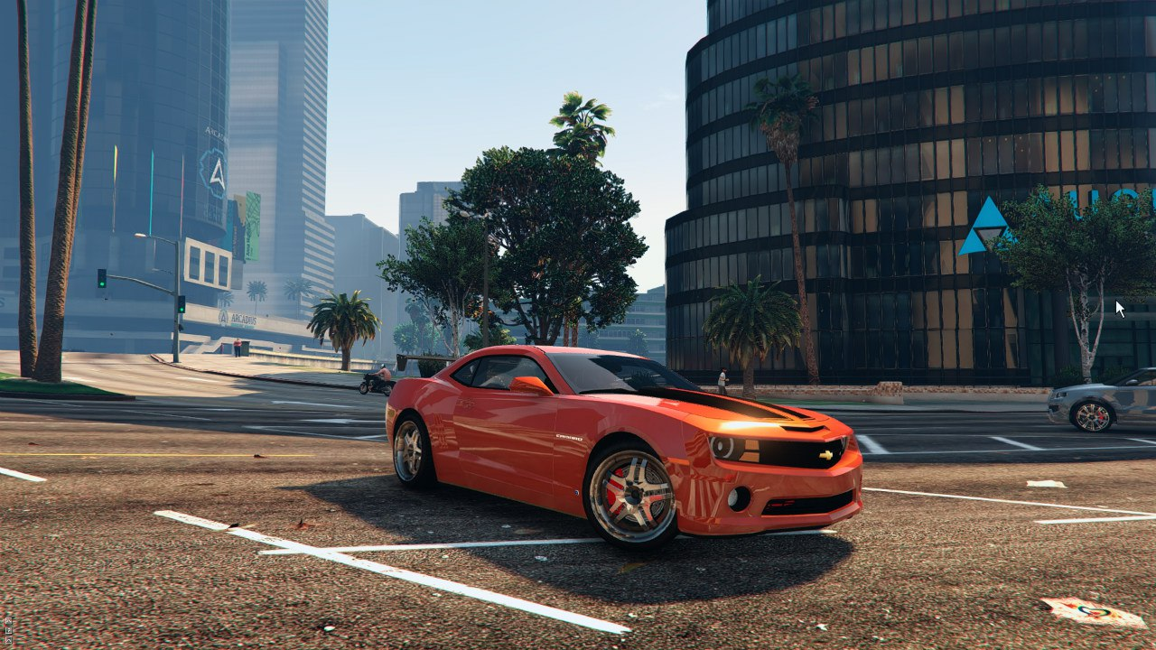 2010 Chevrolet Camaro SS 0.1 для GTA V - Скриншот 3