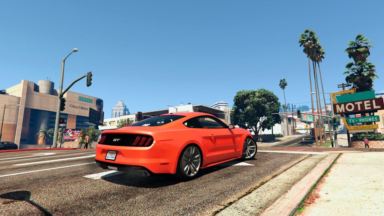 Ford Mustang GT 2015 v1.1 для GTA V - Скриншот 2