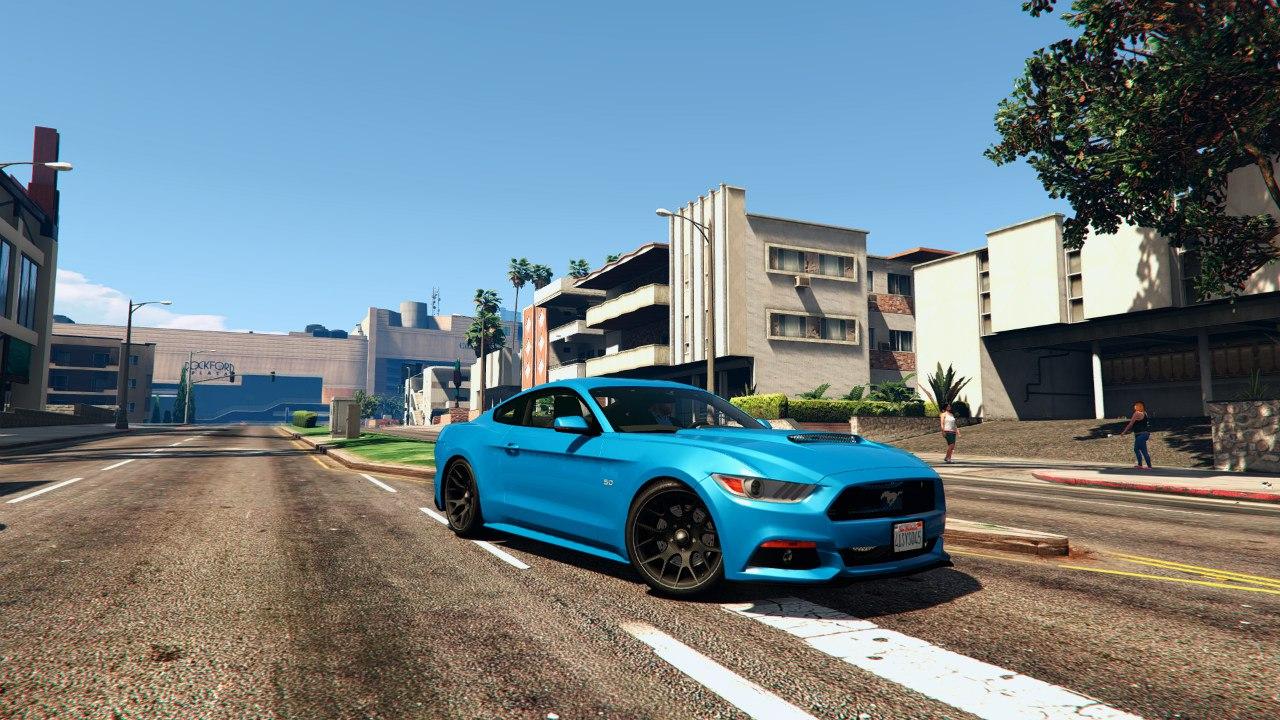 Ford Mustang GT 2015 v1.1 для GTA V - Скриншот 3