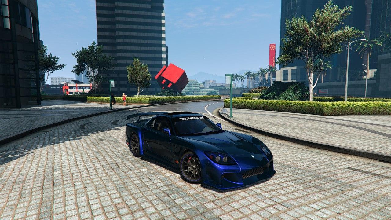 Mazda RX7 Veilside Fortune 0.1 для GTA V - Скриншот 3