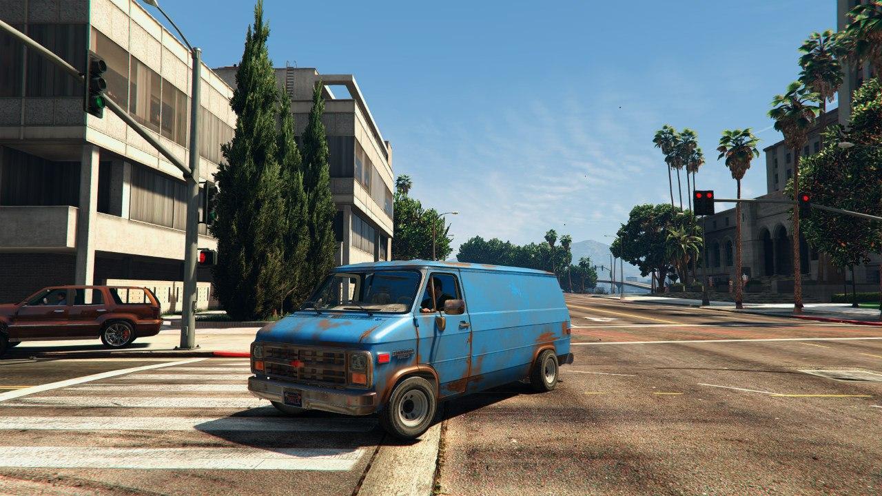 Chevrolet G20 Van v0.1 для GTA V - Скриншот 1
