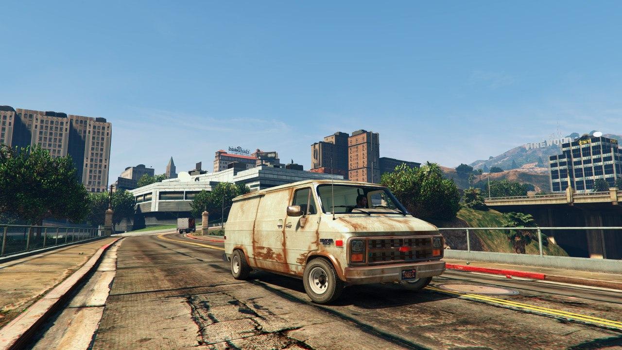 Chevrolet G20 Van v0.1 для GTA V - Скриншот 2