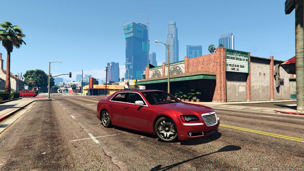 2012 Chrysler 300C v0.1 для GTA V - Скриншот 3