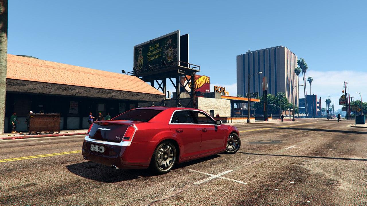 2012 Chrysler 300C v0.1 для GTA V - Скриншот 2