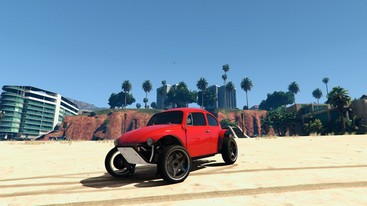 Volkswagen Beetle Baja Bug [BETA] для GTA V - Скриншот 1