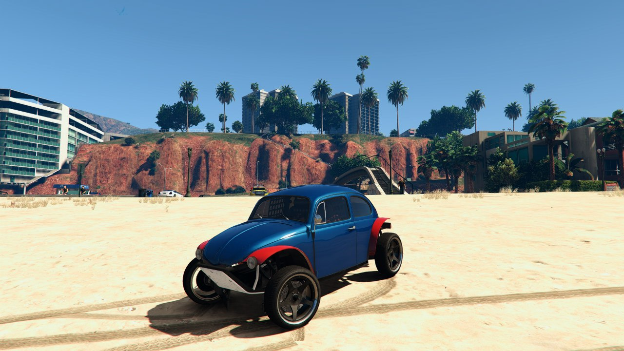Volkswagen Beetle Baja Bug [BETA] для GTA V - Скриншот 2