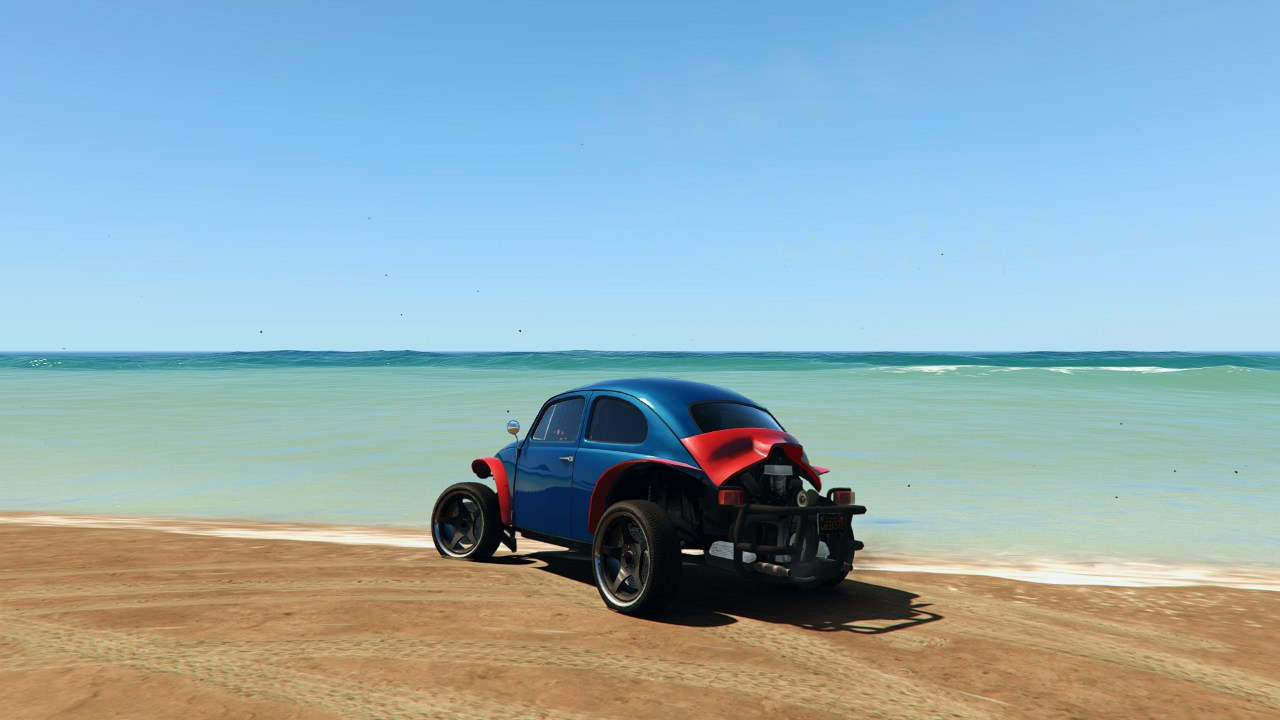 Volkswagen Beetle Baja Bug [BETA] для GTA V - Скриншот 3