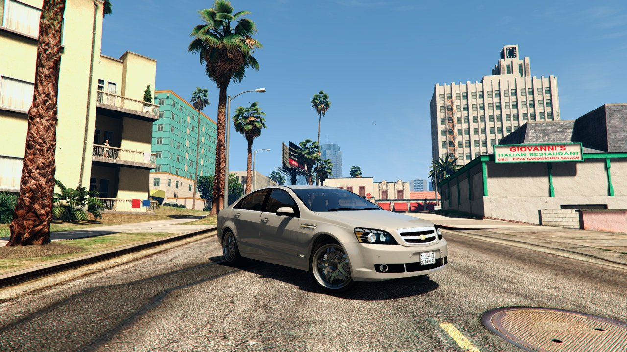 2014 Chevrolet Caprice LS (Arabic Badges) для GTA V - Скриншот 1