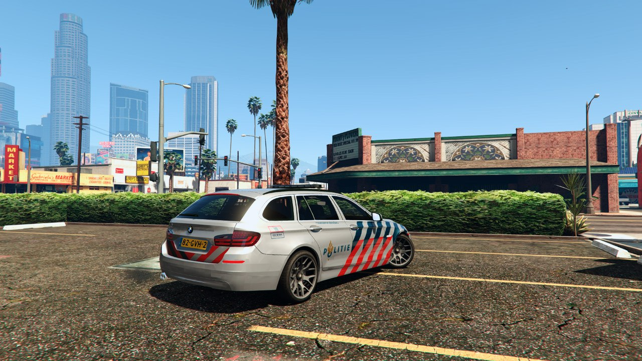 Politie BMW 525D для GTA V - Скриншот 1