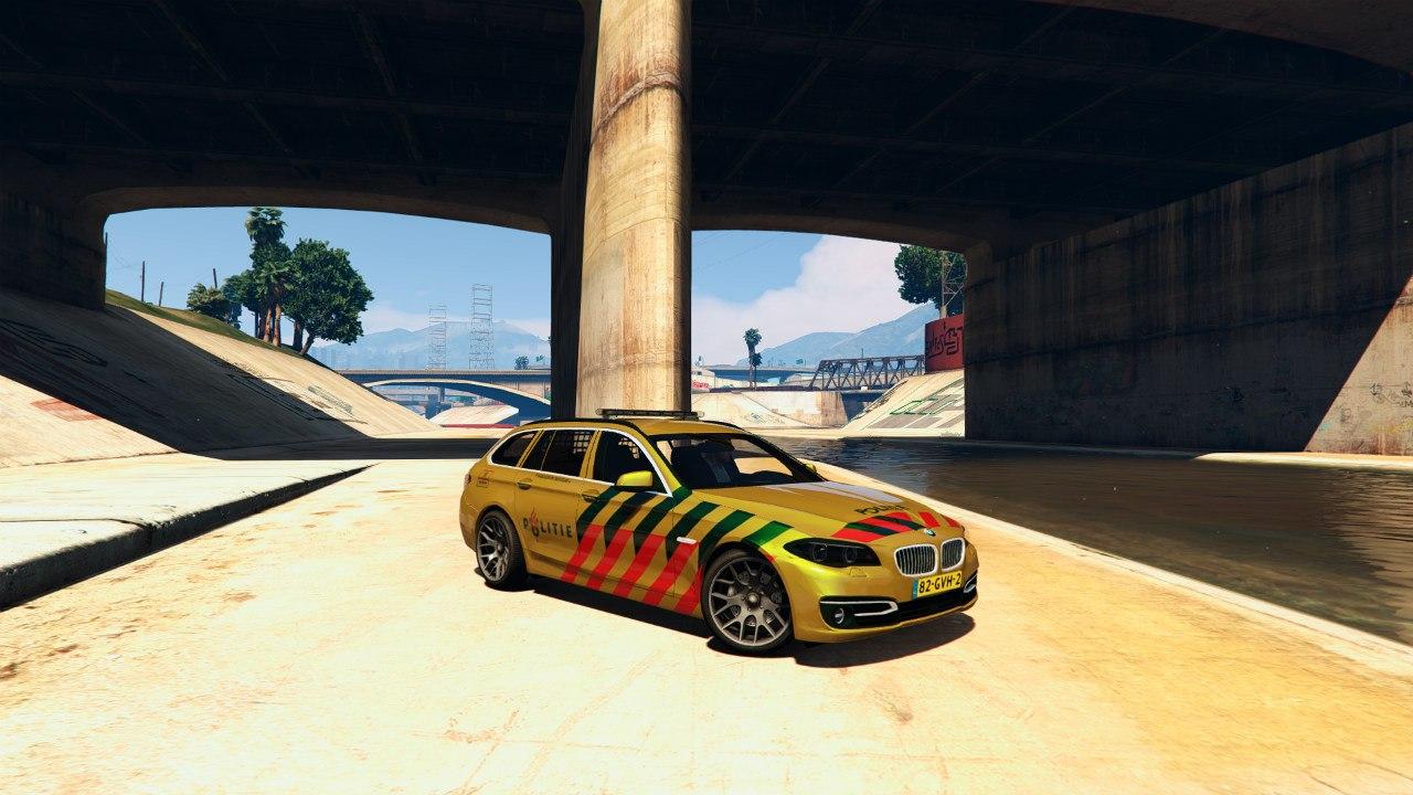 Politie BMW 525D для GTA V - Скриншот 2