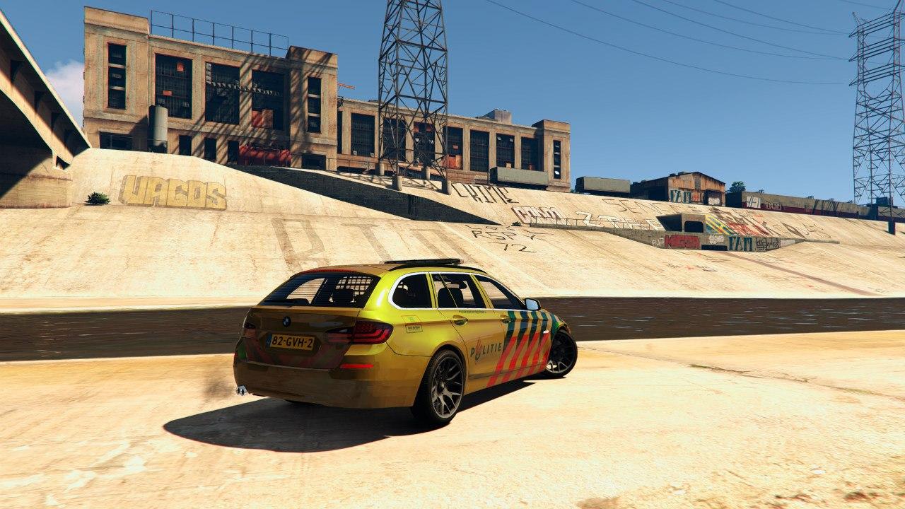 Politie BMW 525D для GTA V - Скриншот 3