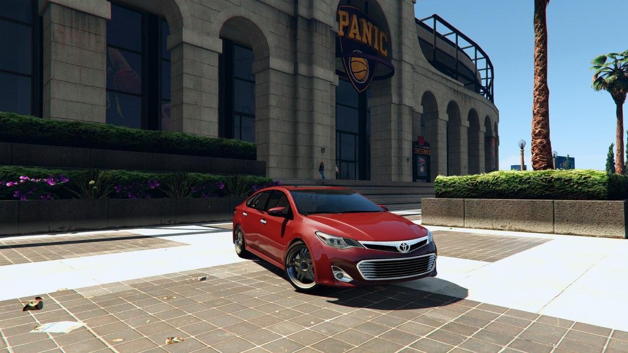 2014 Toyota Avalon для GTA V - Скриншот 1