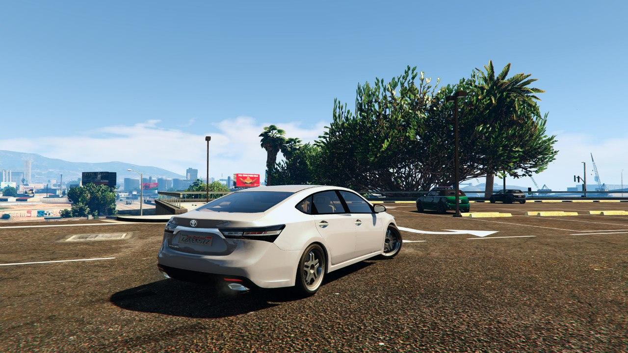 2014 Toyota Avalon для GTA V - Скриншот 2