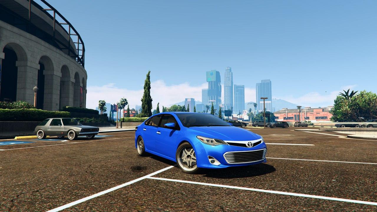 2014 Toyota Avalon для GTA V - Скриншот 3