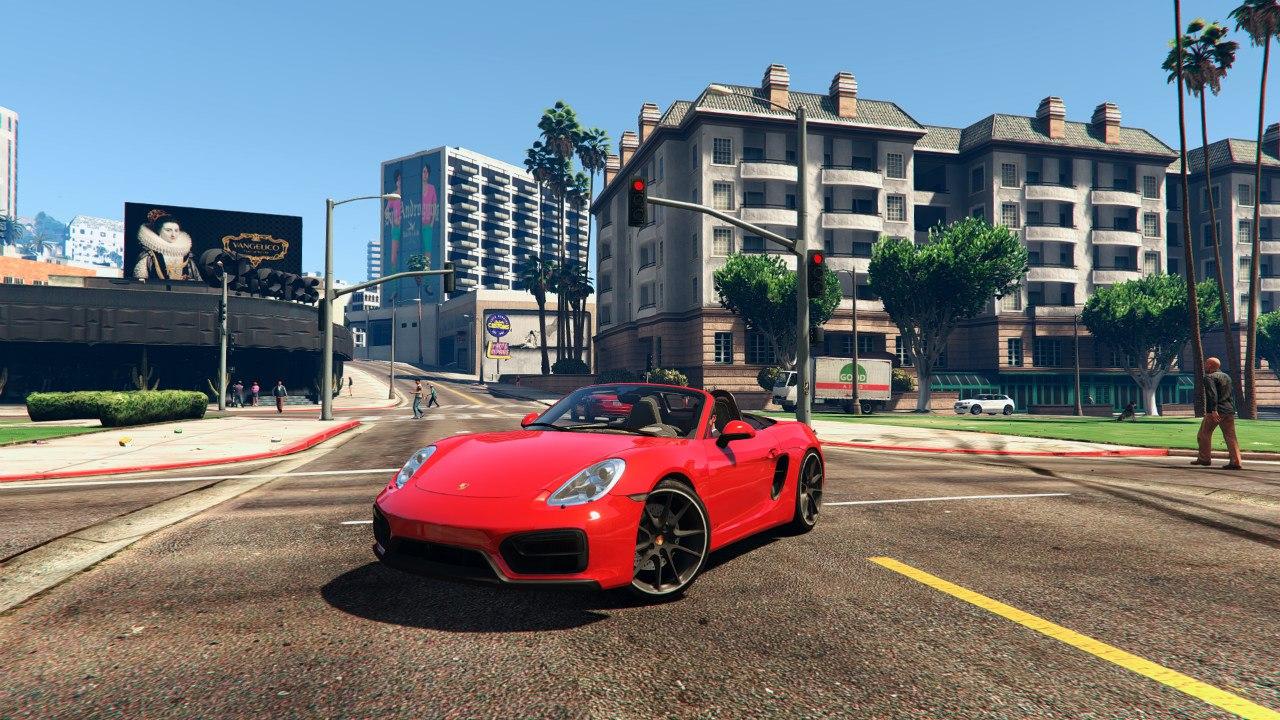 Porsche boxster GTS v0.1 для GTA V - Скриншот 1