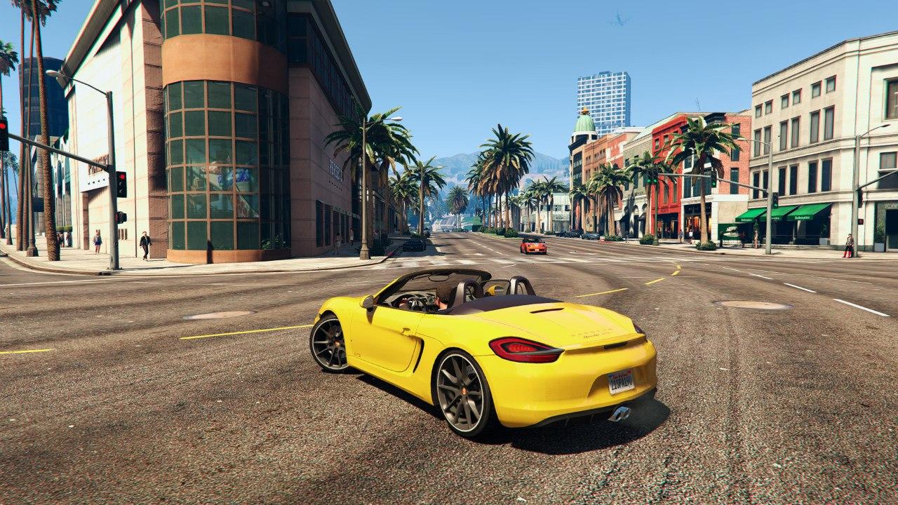 Porsche boxster GTS v0.1 для GTA V - Скриншот 3
