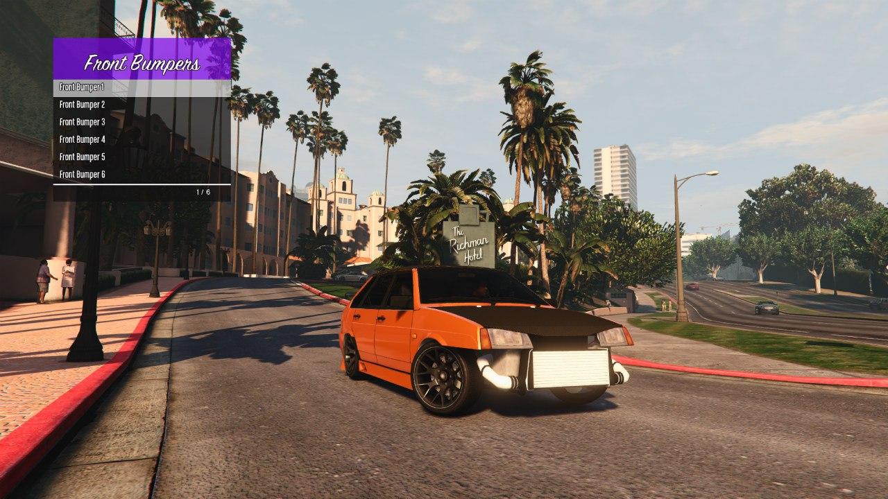 LADA 21093i [FINAL] для GTA V - Скриншот 2