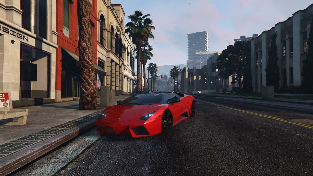 Lamborghini Reventón Roadster v0.1 для GTA V - Скриншот 1