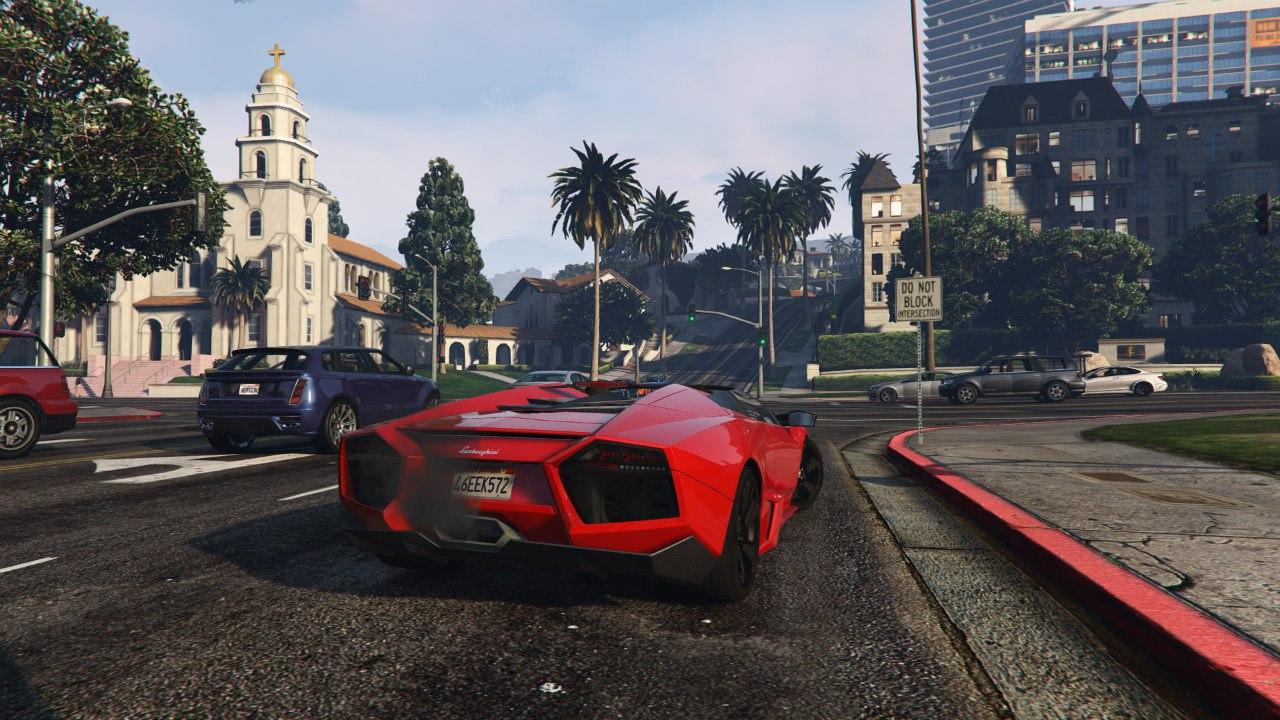 Lamborghini Reventón Roadster v0.1 для GTA V - Скриншот 2