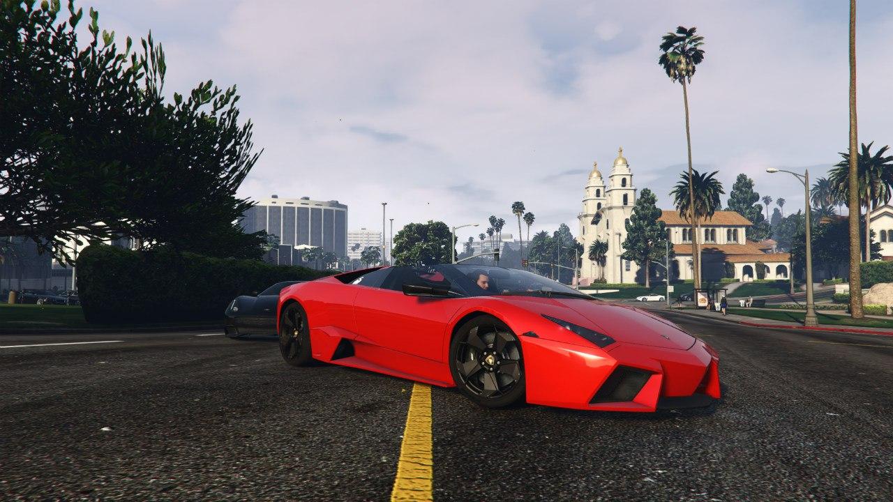 Lamborghini Reventón Roadster v0.1 для GTA V - Скриншот 3