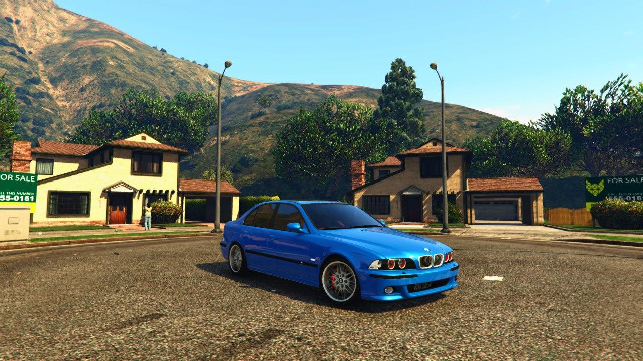 BMW M5 E39 v1.0 для GTA V - Скриншот 1