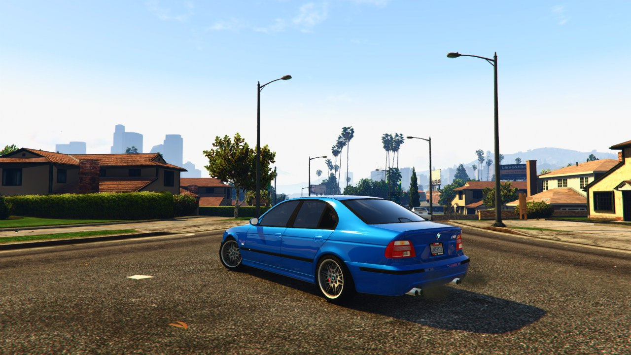 BMW M5 E39 v1.0 для GTA V - Скриншот 2