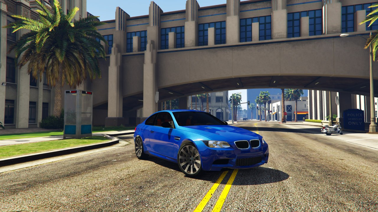 BMW M3 E92 для GTA V - Скриншот 1