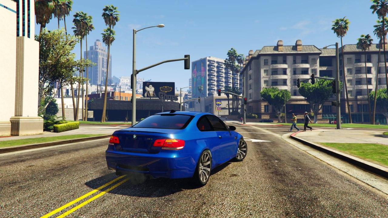 BMW M3 E92 для GTA V - Скриншот 2