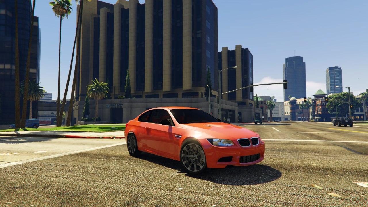 BMW M3 E92 для GTA V - Скриншот 3