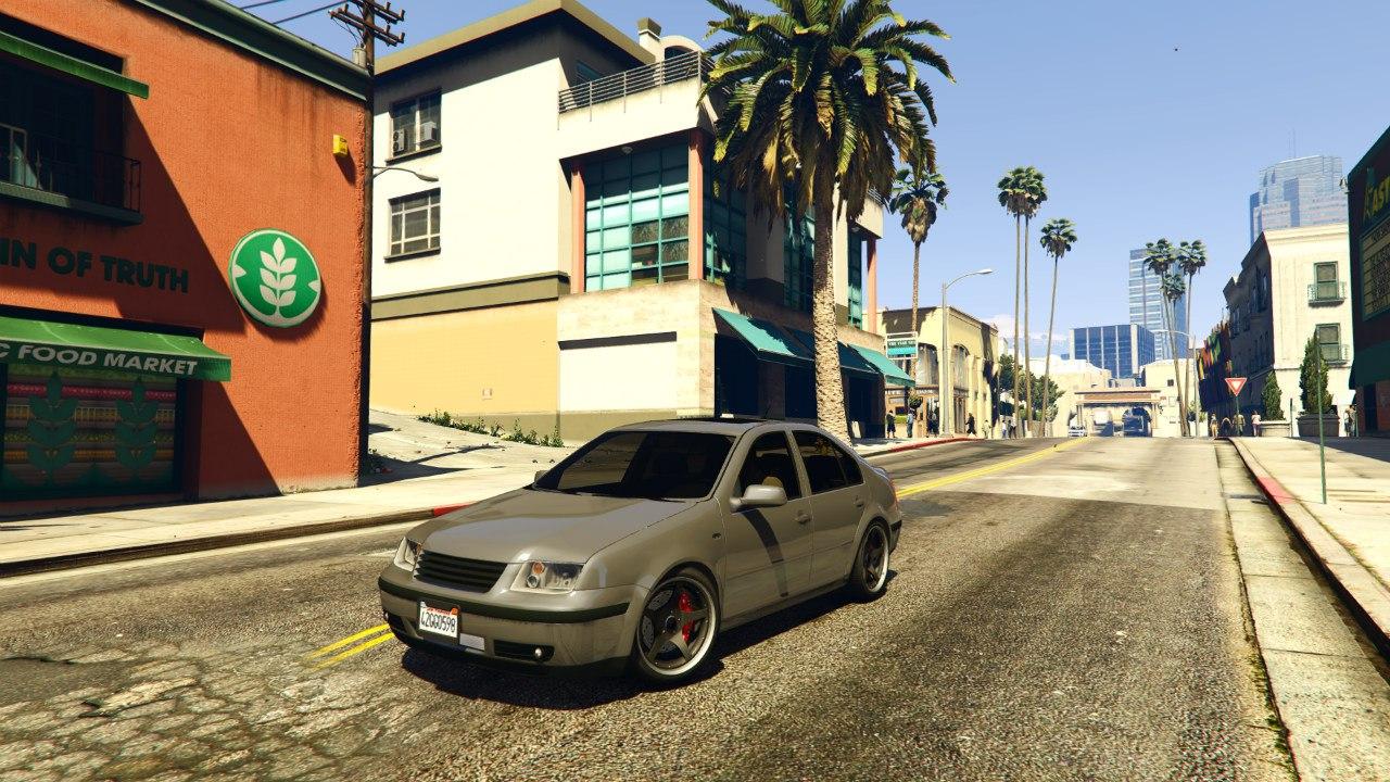 Volkswagen Bora EA Edition для GTA V - Скриншот 1