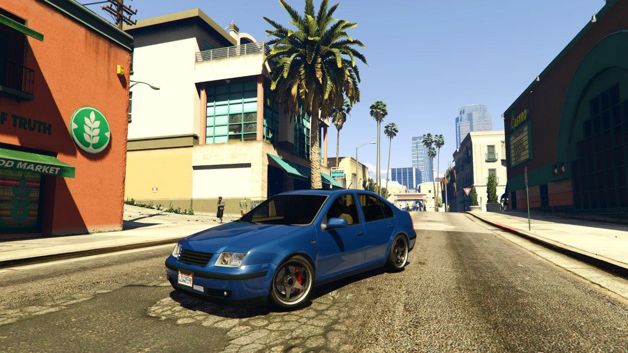 Volkswagen Bora EA Edition для GTA V - Скриншот 2