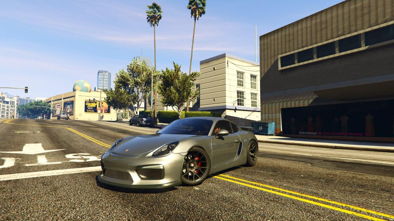 Porsche Cayman 2016 Tunable для GTA V - Скриншот 2