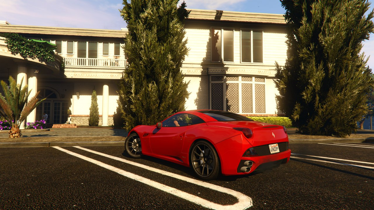 Ferrari California 2012 v0.1 для GTA V - Скриншот 1