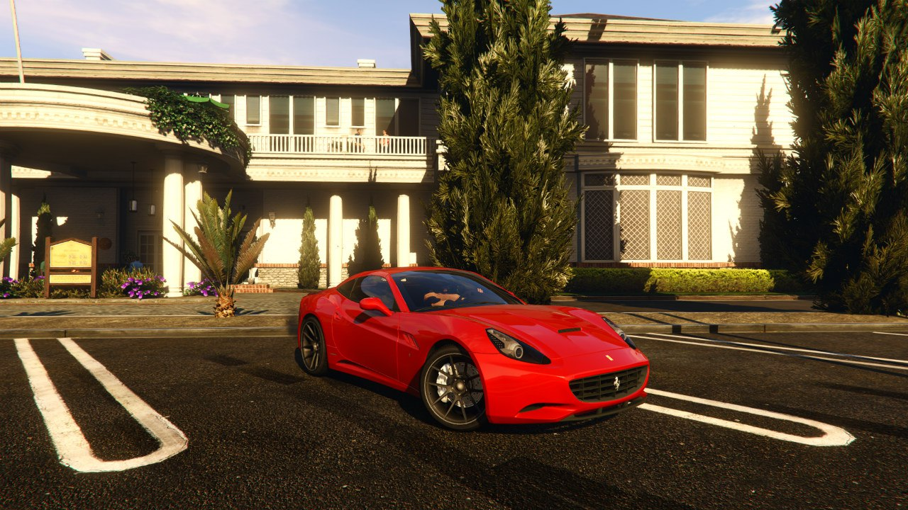 Ferrari California 2012 v0.1 для GTA V - Скриншот 2