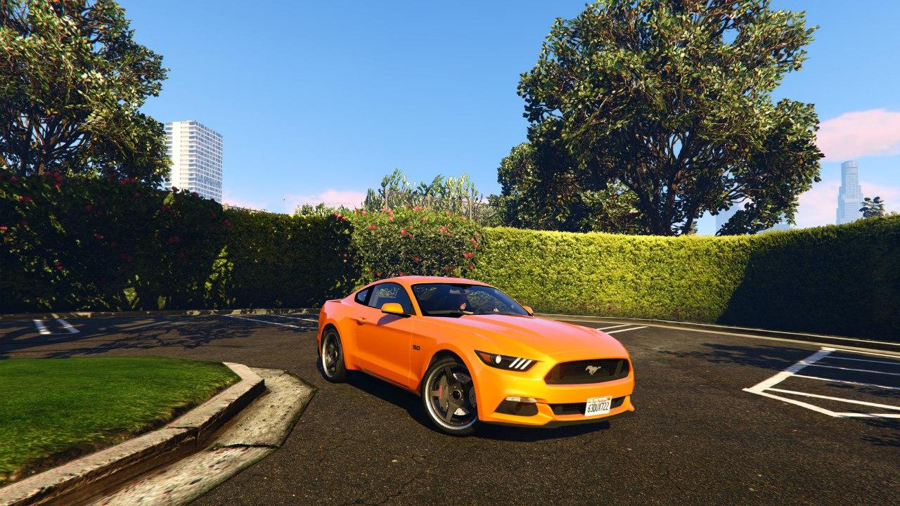 Ford Mustang GT 2015 v0.1 для GTA V - Скриншот 1